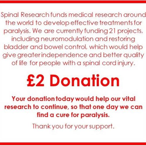 SR19 - £2 Donation