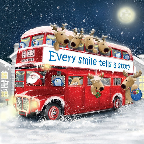 CL02 Christmas Bus