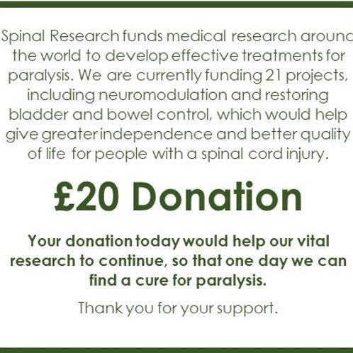 SR22 - £20 Donation
