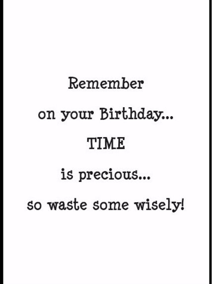15023SW Time is Precious...