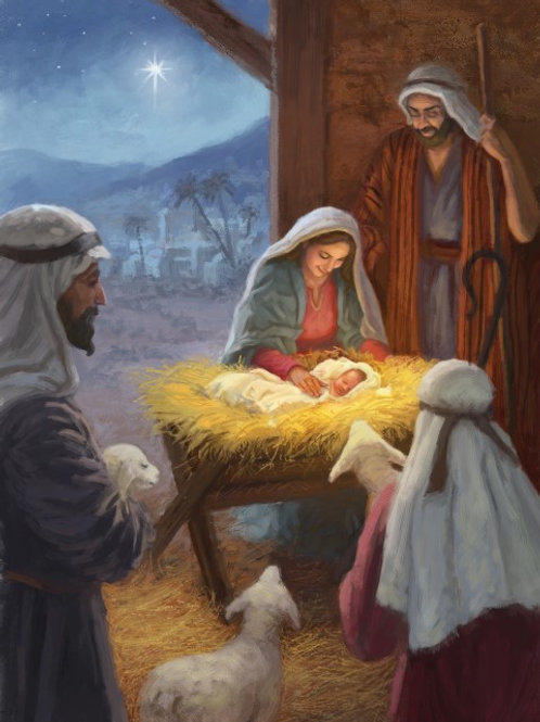 MS15174 Away in a Manger