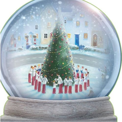 SR10 Village Snow Globe