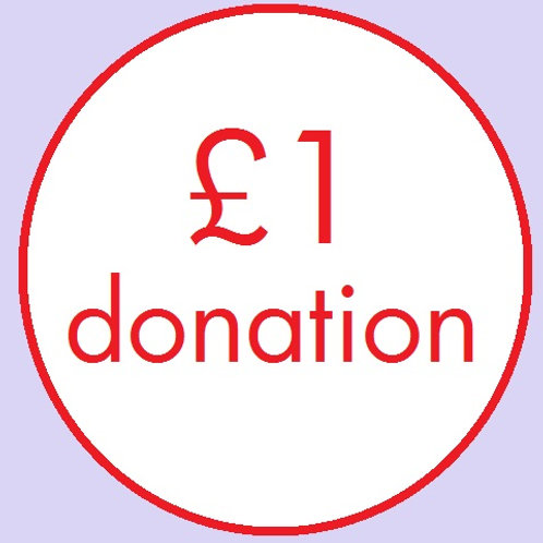 CL15 £1 Donation to CLAPA