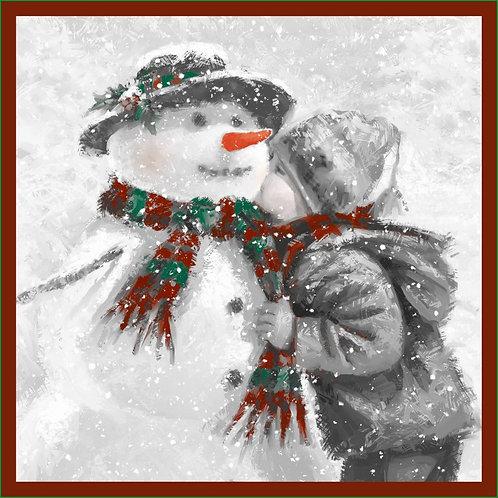 RHN09 Snowman's Kiss