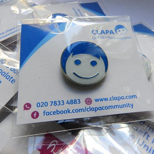 CL13 Clapa Pin Badge