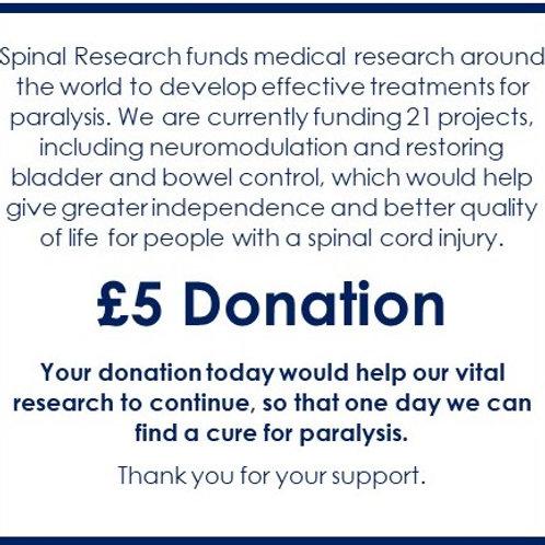 SR20 - £5 Donation