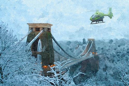 GW01 Bristol in the Snow