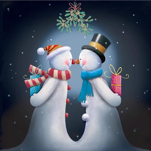MAW08044 Snowmans Kiss