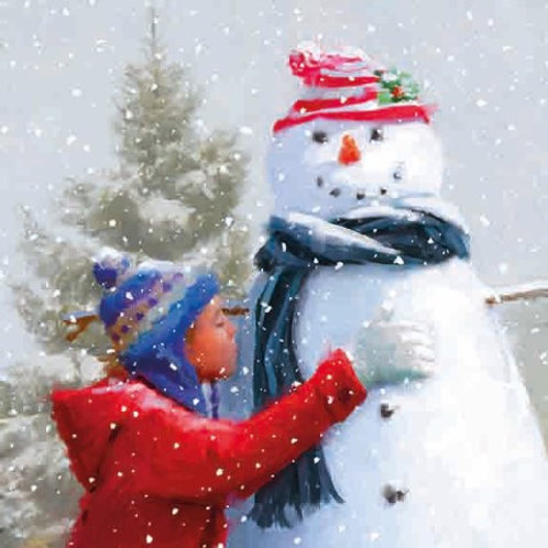 14145 The Snowman (cost price £1.75 inc vat RRP £3.50)