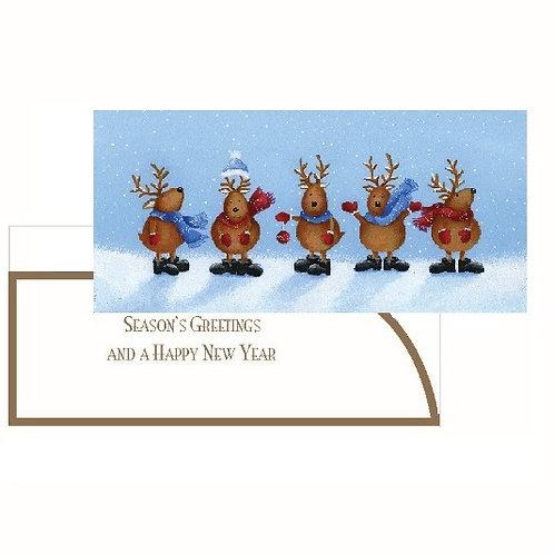 SAN16 Reindeer Money Wallet