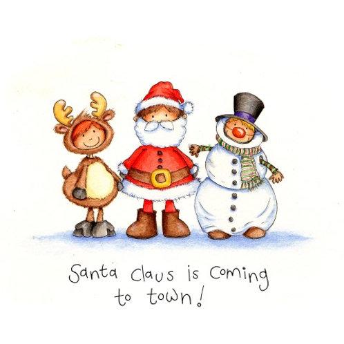 13353 Santa's Little Helpers (cost price £1.75 inc vat RRP £3.50)