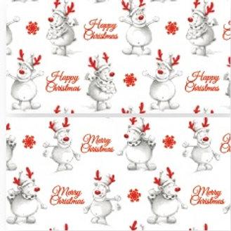 NKF11 Reindeer Giftwrap