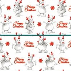 RHN16 Reindeer Giftwrap