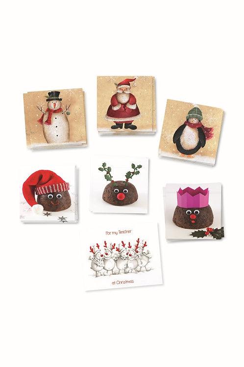 GW09 Classmates Christmas Cards