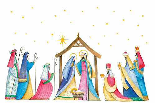 SR15 Starlit Nativity