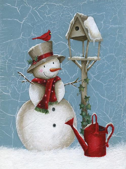 SR16 Snowman & Birdtable