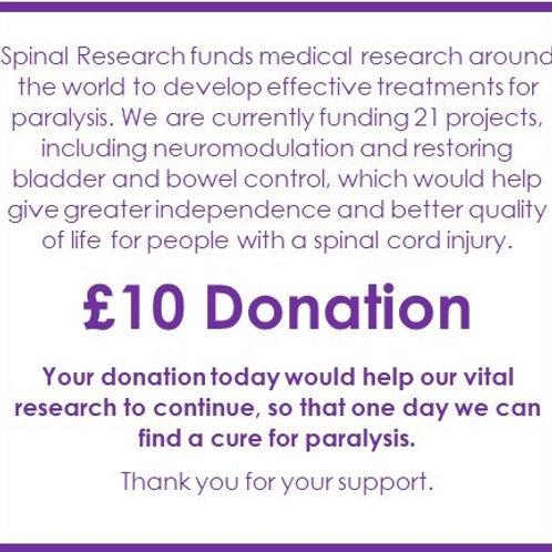 SR21 - £10 Donation