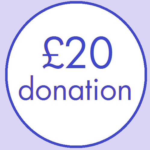 CL18 £20 Donation to CLAPA