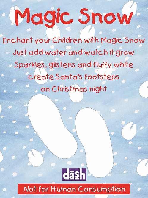 Magic Snow (cost price £1.19 inc vat RRP £1.99) units of 50 sachets