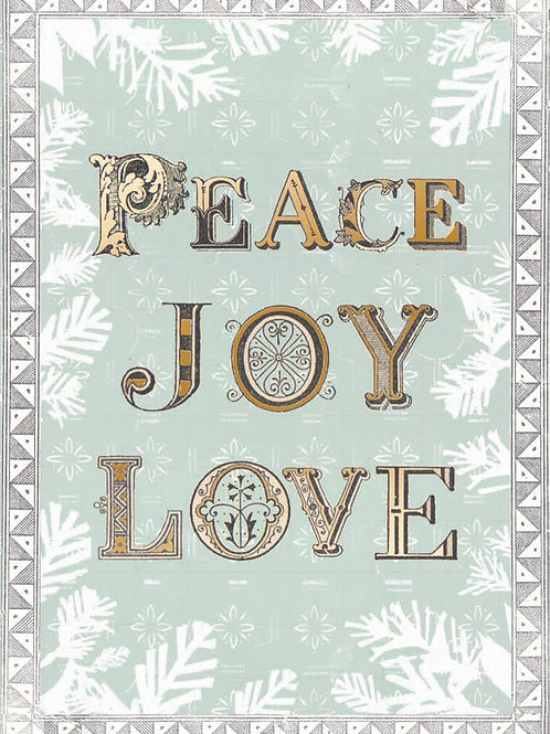 RHNJE3 Peace Joy Love