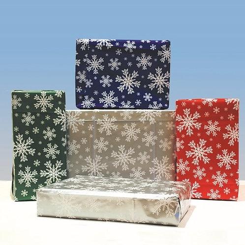 CL08 Snowflake Gift Wrap