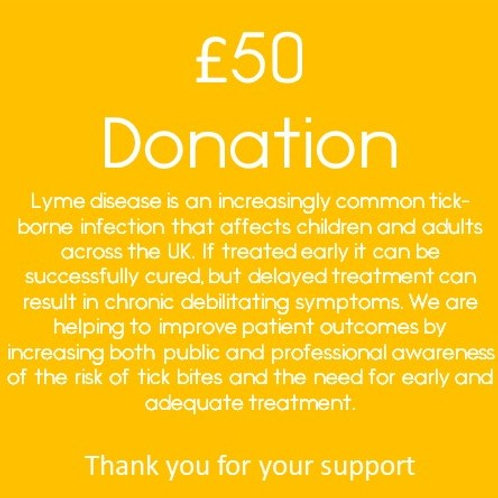 £50 Donation - Thank you for your support