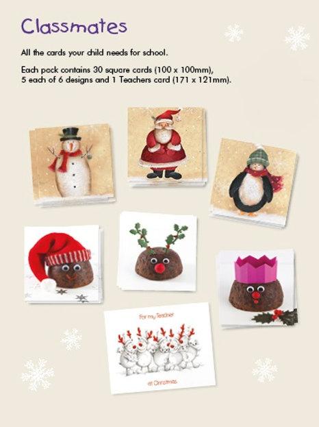 Classmates Cards (cost price £2.39 inc vat RRP £4.99) units of 10 packs