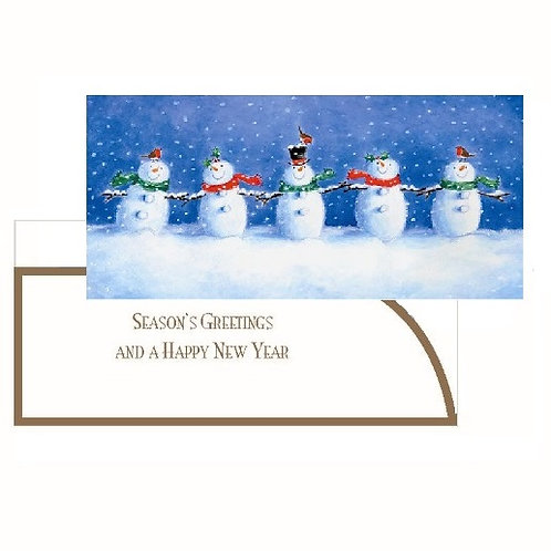 NKF15 Snowmen Money Wallet