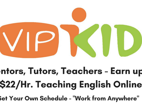 VIPKID is for the movers, the shakers, and the entrepreneurial cake makers!