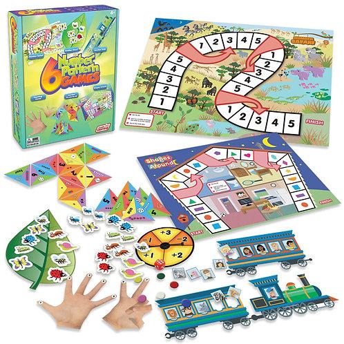 6 Number Patter Games