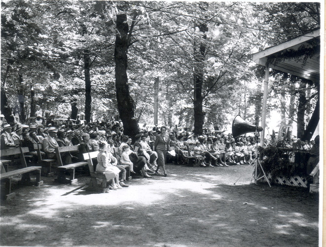 Pioneer Picnic Grandstand