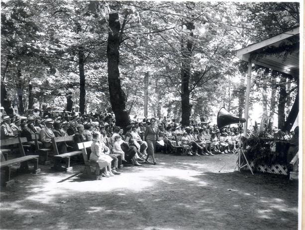 Pioneer Picnic Grandstand