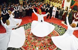 Hearts Align in a Muslim Ritual