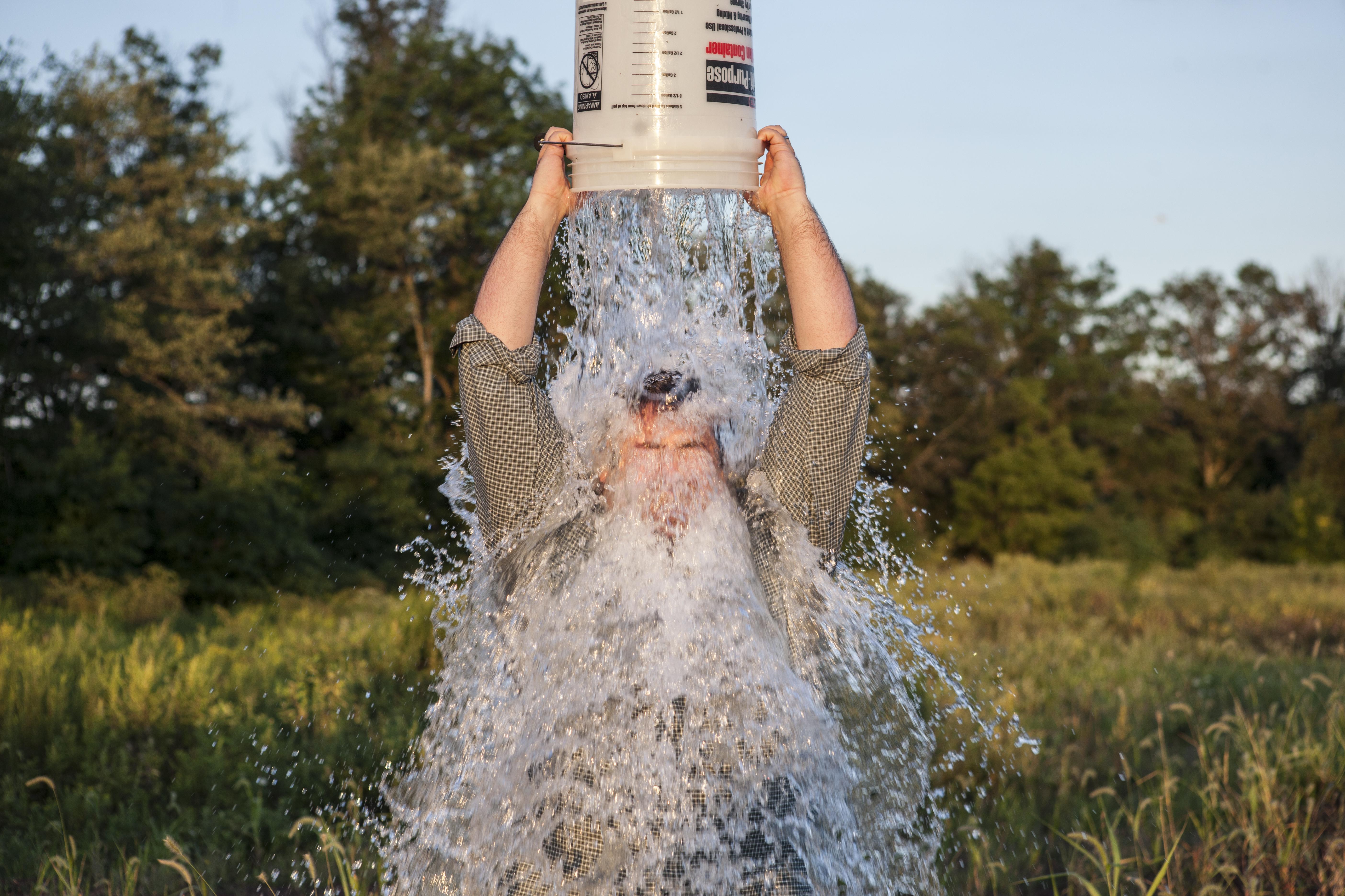 On the Ice Bucket Challenge