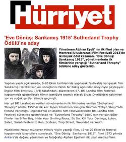 Hurriyet Newspaper Turkey