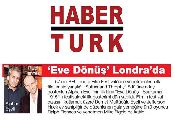 Haberturk Newspaper Turkey