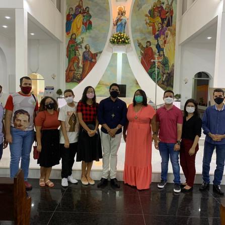 O Auxilia marcou presença na Festa em honra a Dom Bosco, na Paróquia Nossa Senhora Auxiliadora