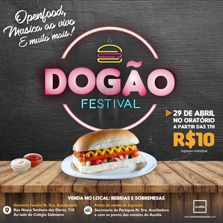 Movimento Auxilia em Sergipe se prepara para a 2° edição do Dogão Festival .