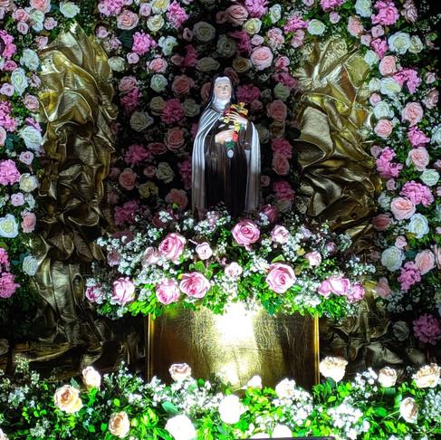Festa da Capela de Santa Teresinha no Bairro Coroa do Meio, em Porto da Folha