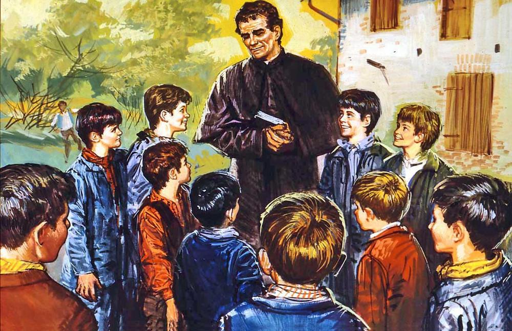 Dom Bosco e os meninos