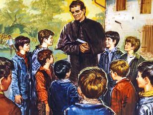 Espalhemos o amor de Dom Bosco para os jovens!