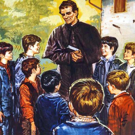 Dom Bosco e a afetividade dos meninos