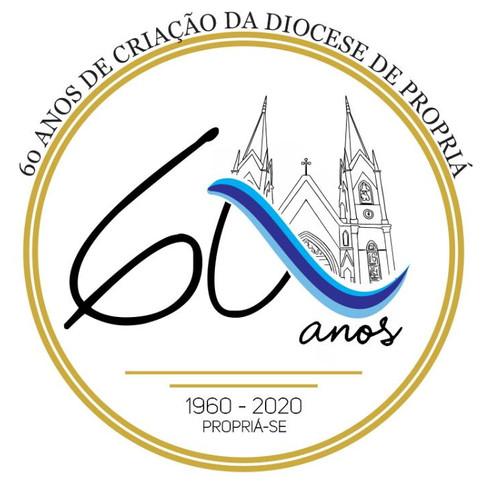 A Diocese de Propriá comemora neste dia 16 de Outubro, o seu 60° aniversário de instalação