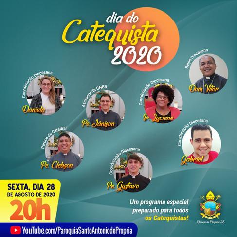 A Comissão Bíblico-Catequética da Diocese de Propriá preparou uma homenagem para os catequistas