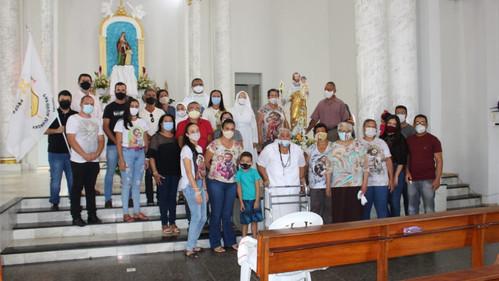 Paróquia Senhora Sant'Ana de Aquidabã, acolhe imagem de São José entronizada na Igreja Matriz