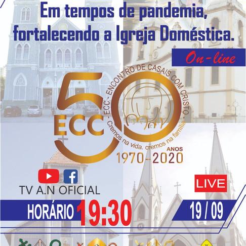 Em live, o Setor 7 celebrará os 50 anos do ECC