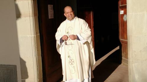 A Paróquia Nossa Senhora da Conceição, acolhe nesta terça-feira o seu novo pároco, Pe. Fábio.