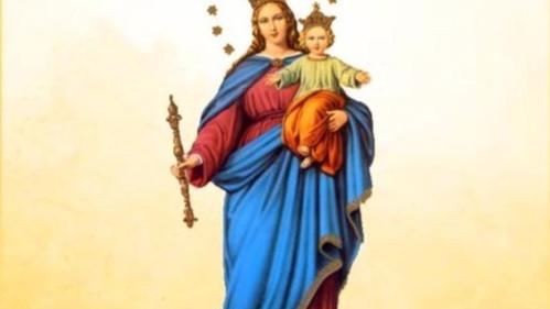 Festa em honra a Nossa Senhora Auxiliadora, na Comunidade Lagoa dos Bichos