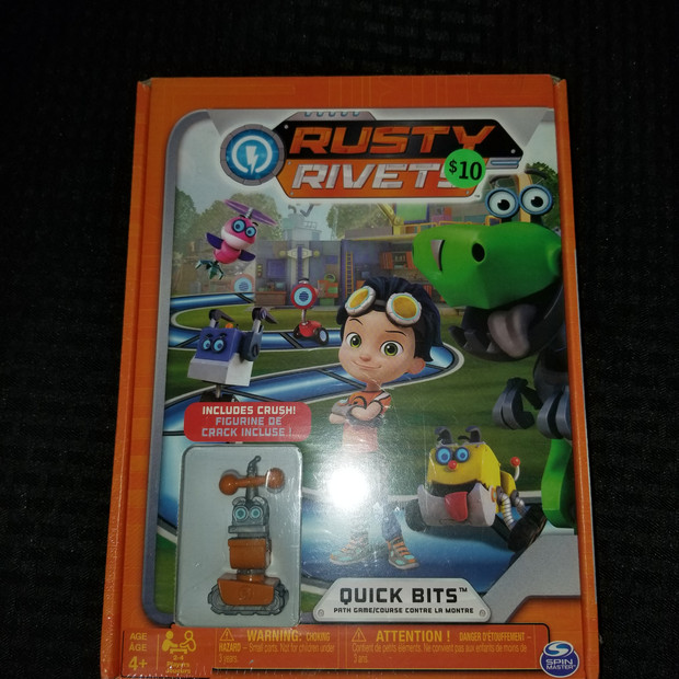 Rusty Rivets Board Game