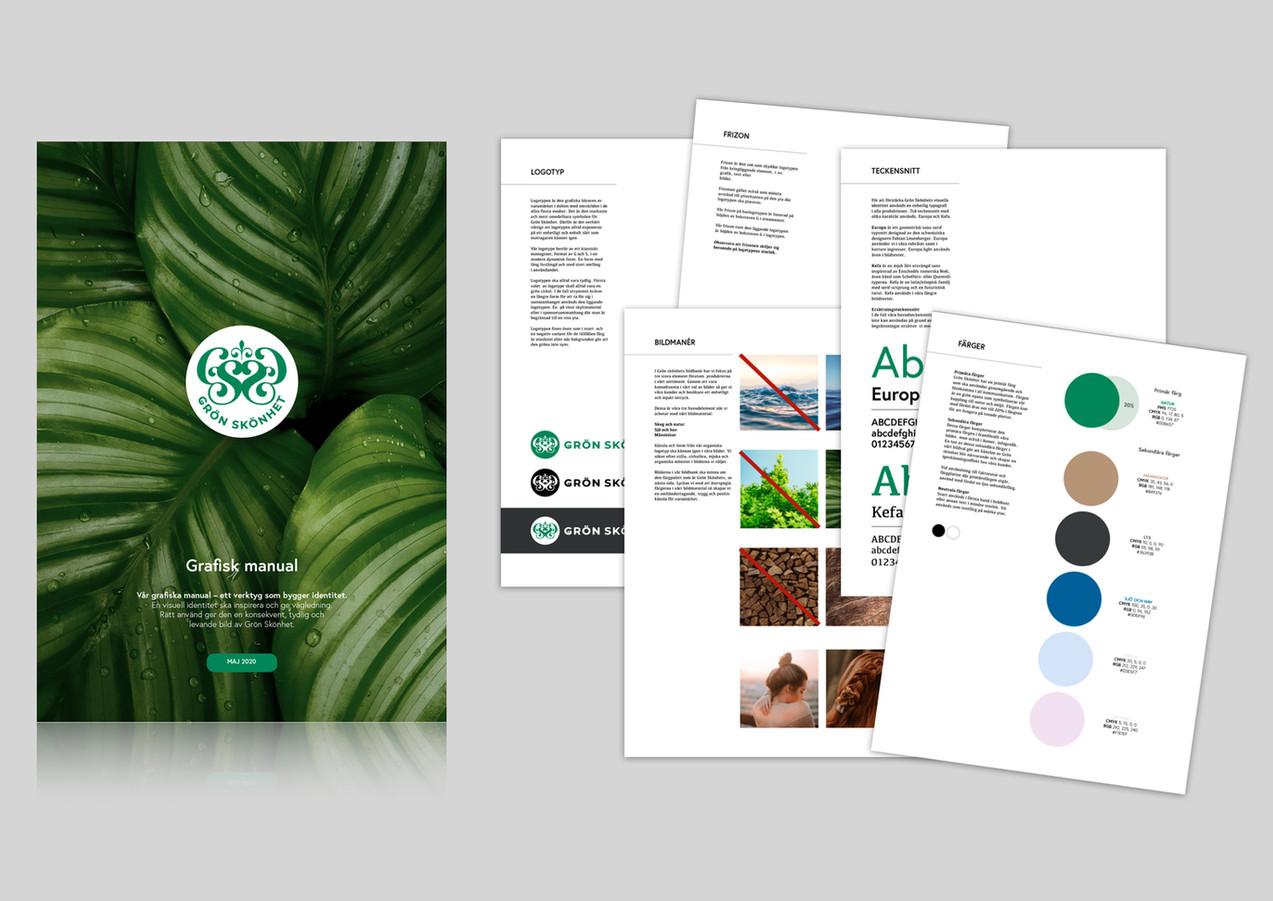 Grafisk manual - ett verktyg som bygger en visuell identitet